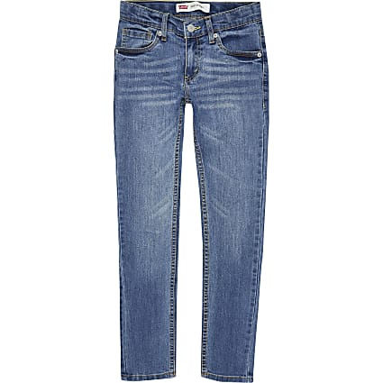 Age 13+ Boys blue Levi's skinny fit jeans