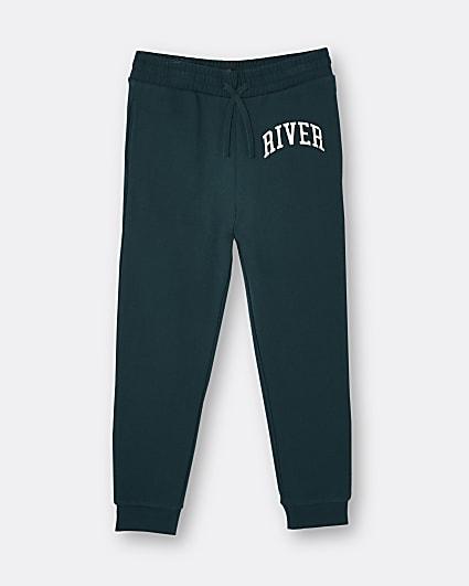 Age 13+ boys green River joggers