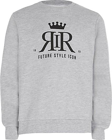 Age 13+ boys grey RIR sweatshirt