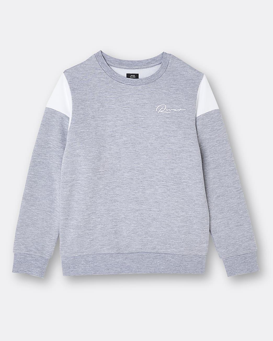 Age 13+ boys grey River sweatshirt
