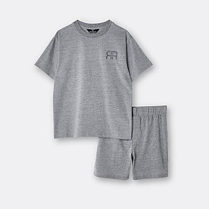Age 13+ boys grey tiger stripe pyjama set