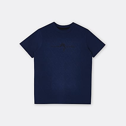 Age 13+ boys navy Maison Riviera t-shirt