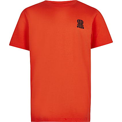 Age 13+ boys red RR t-shirt