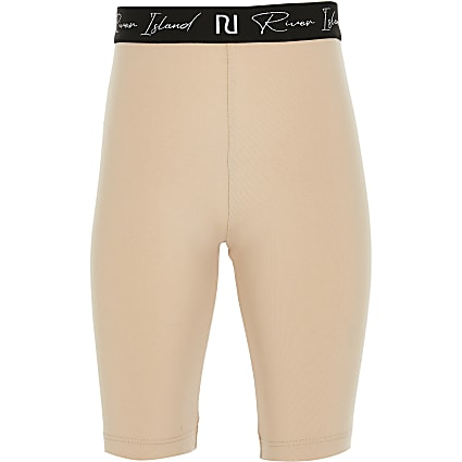 Age 13+ girls beige cycling shorts