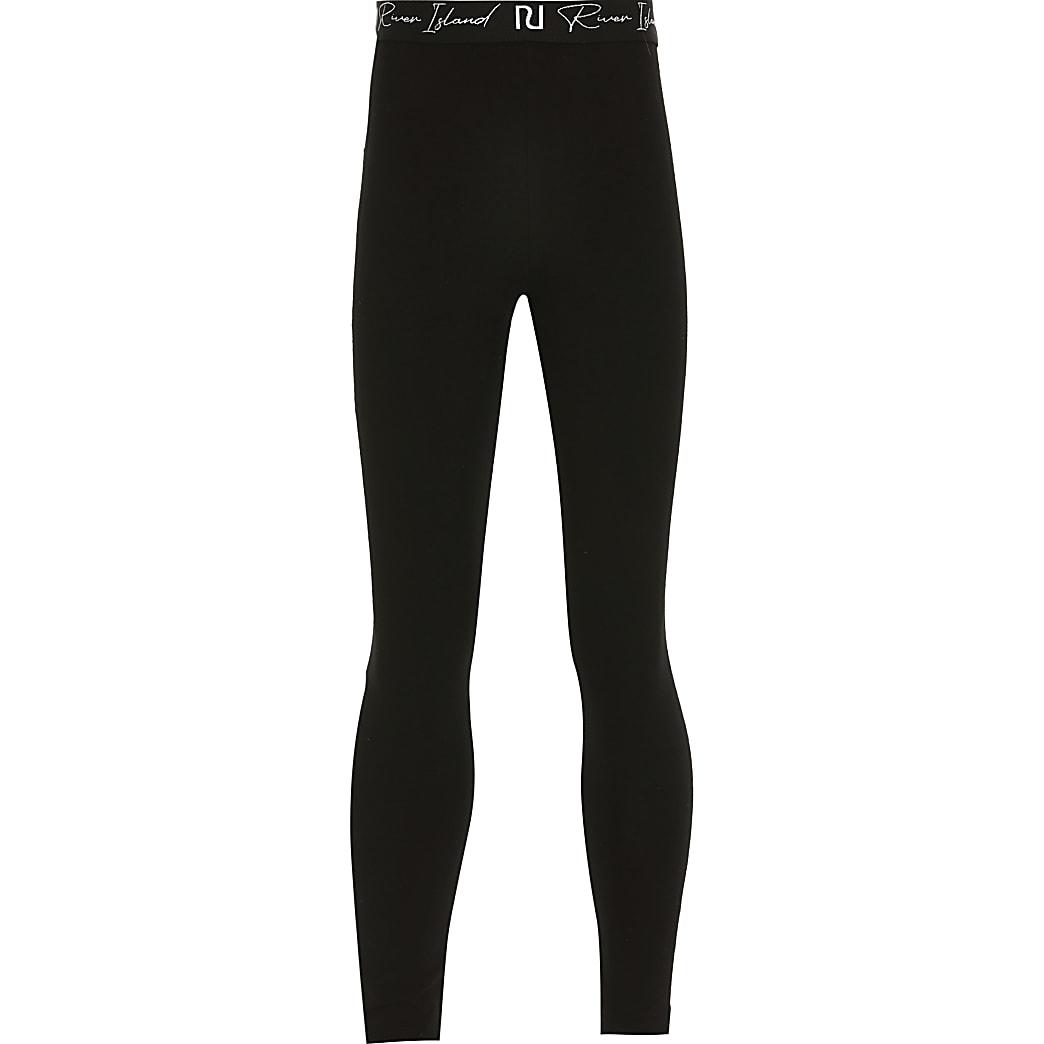 Age 13+ girls black leggings