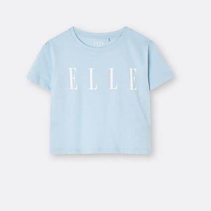 Age 13+ girls blue ELLE t-shirt
