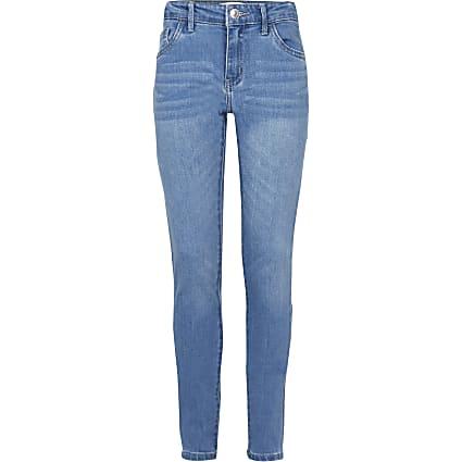 Age 13+ girls blue Levi's skinny jeans