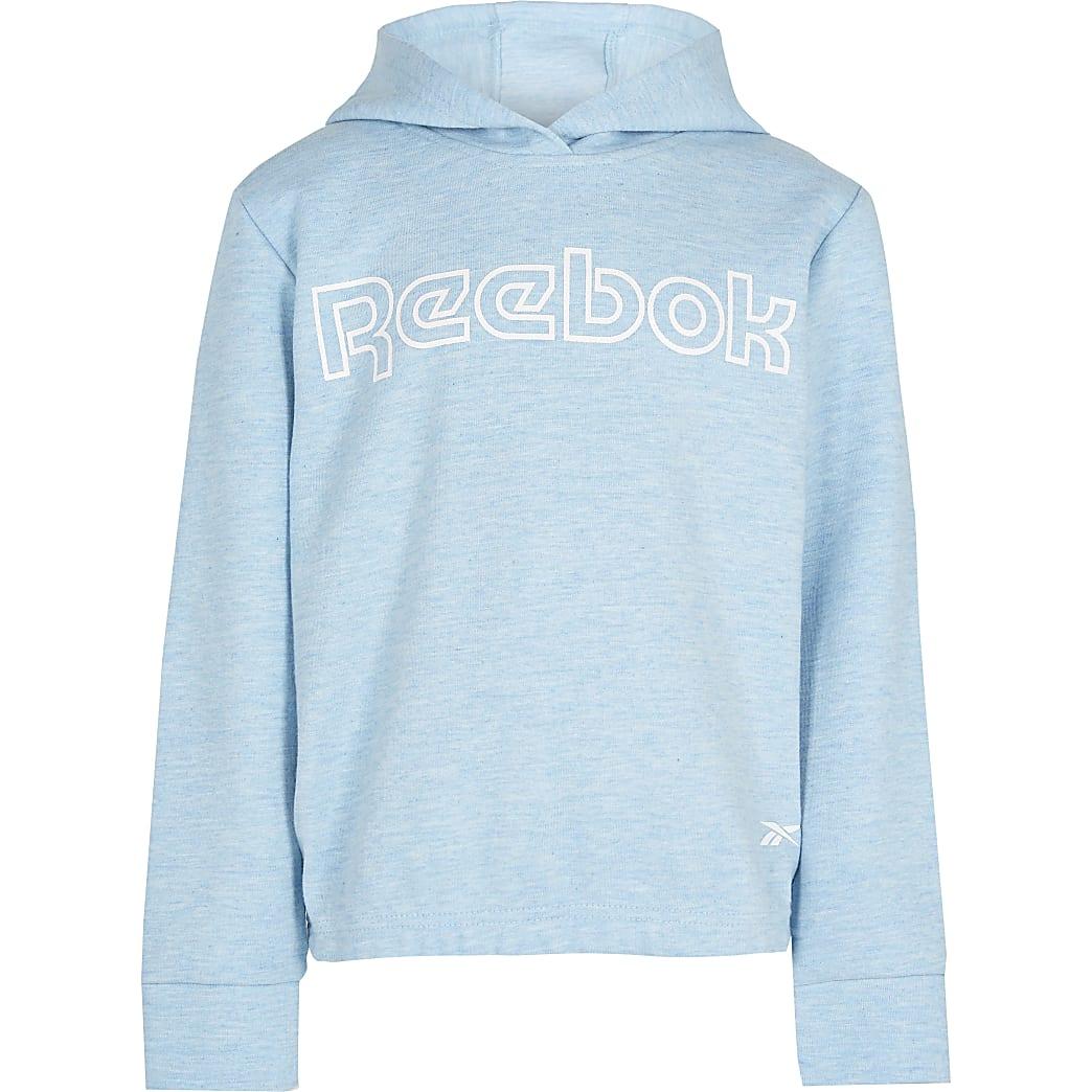 Age 13+ girls blue Reebok hoodie