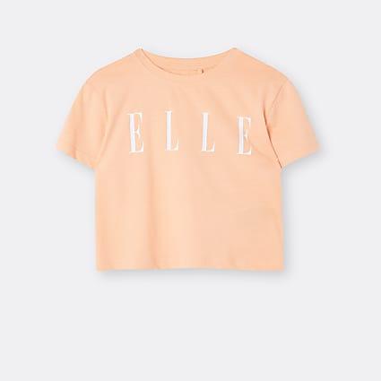 Age 13+ girls orange ELLE t-shirt
