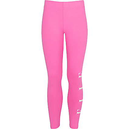 Age 13+ girls pink ELLE leggings