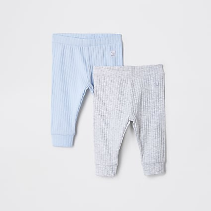 Baby blue leggings 2 pack