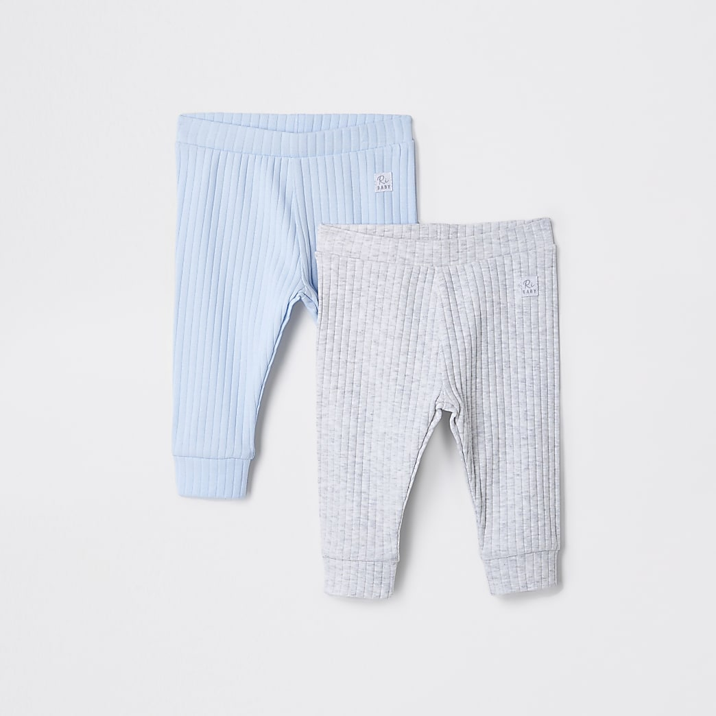 Baby blue leggings 2 pack