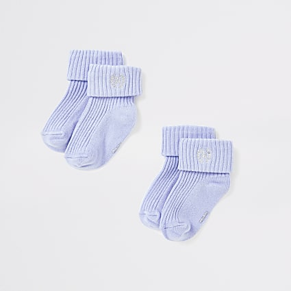 Baby blue RI socks multipack