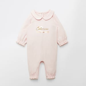 Roze 'Cuteness overload' rompertje voor baby's