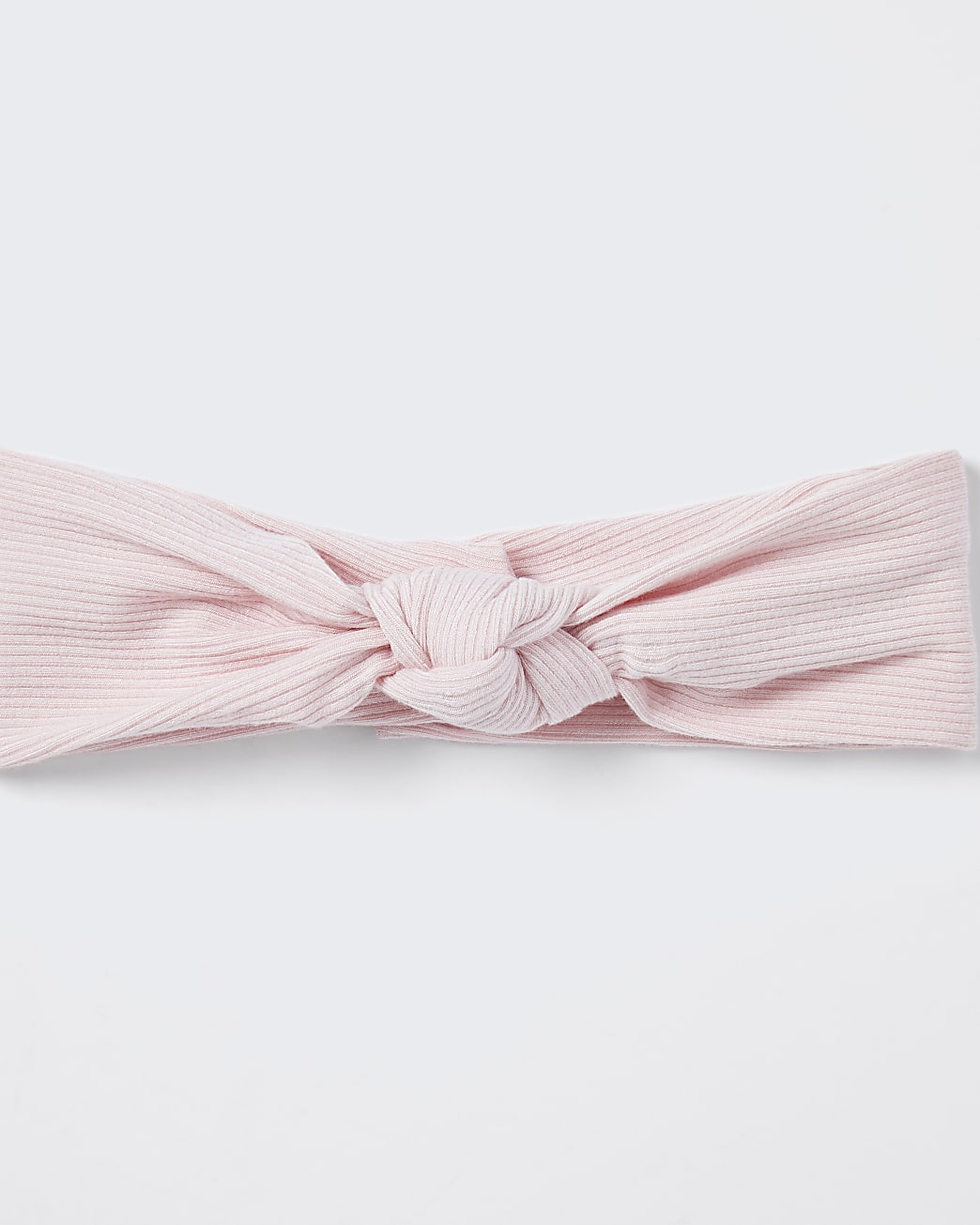 Baby pink knot headband