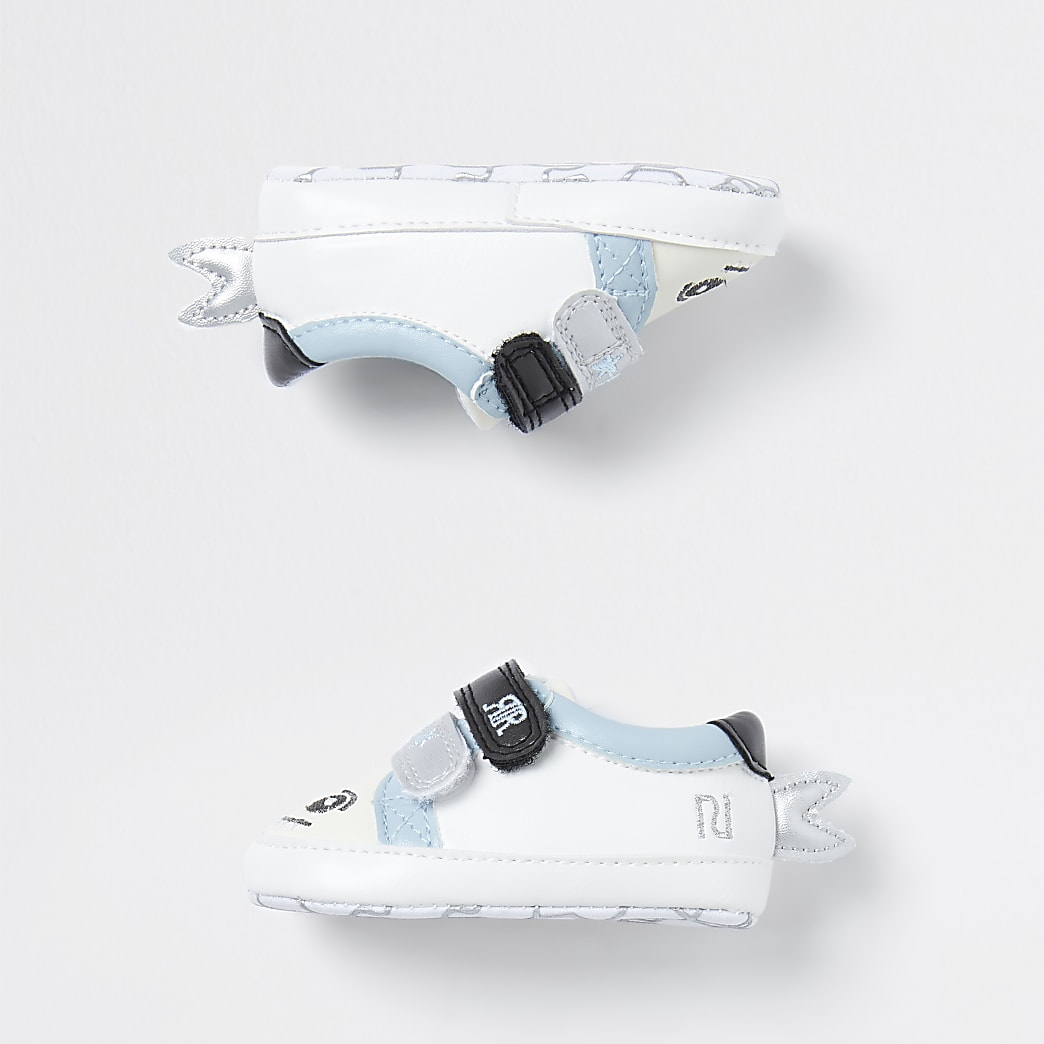 Baby white shark trainers