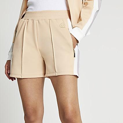 Beige premium shorts