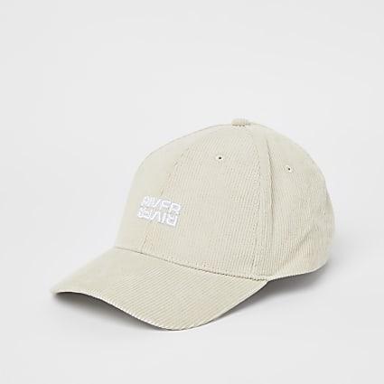 Beige RI branded cap