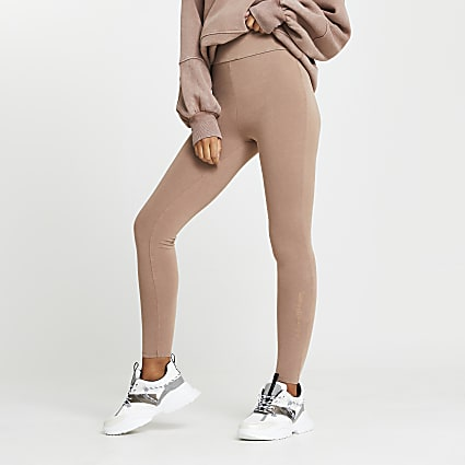 Beige RI ONE leggings