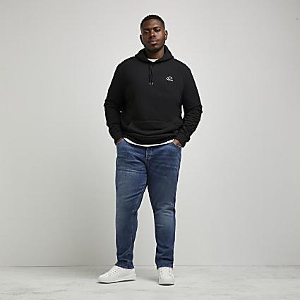Big & Tall blue Dylan slim fit jeans