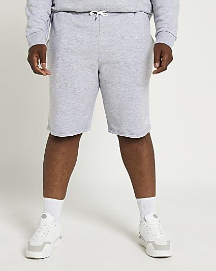 Big & Tall grey RI slim fit shorts