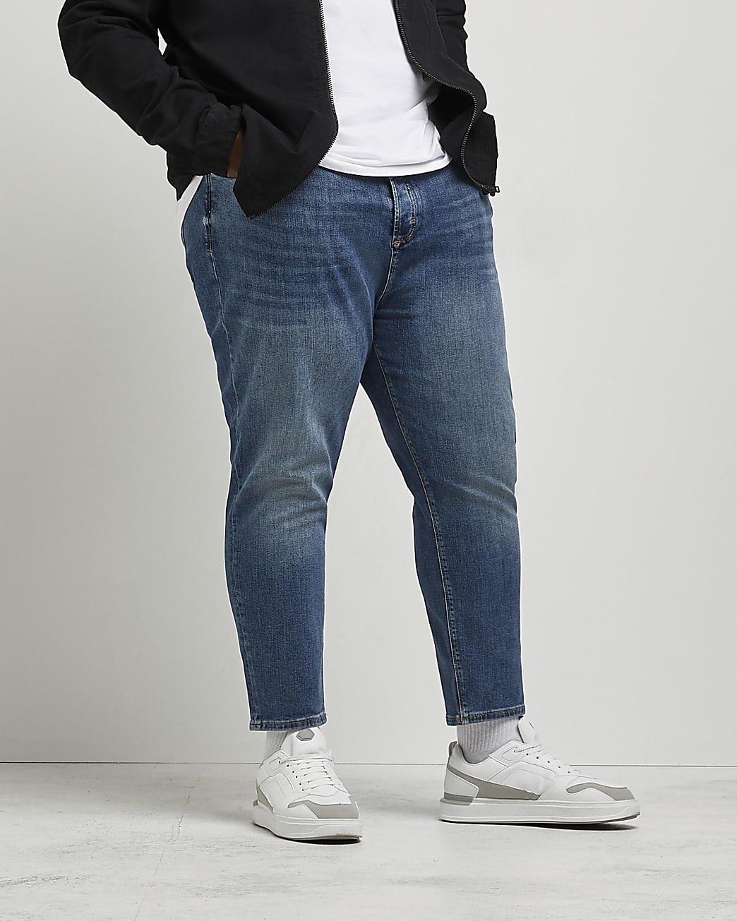 Big & Tall tapered jeans