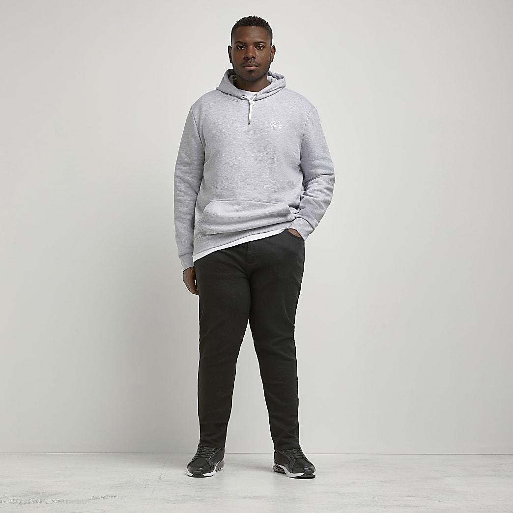 Big & Tall black skinny fit jeans