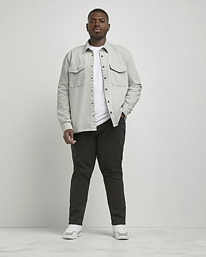 Big & Tall black slim fit jeans
