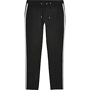 Big and Tall – Pantalon de jogging ultra skinny noir
