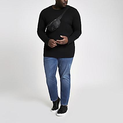 Big & Tall blue slim fit jeans