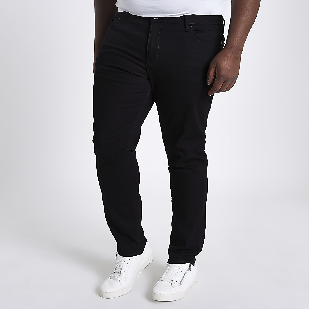 Big and Tall Dylan slim jeans 2 pack