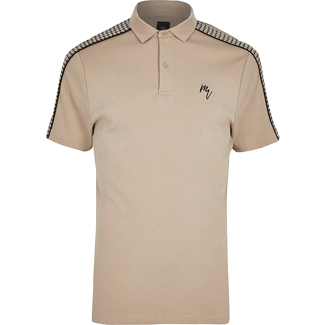 Big and Tall – Maison Riviera – Poloshirt im Slim Fit