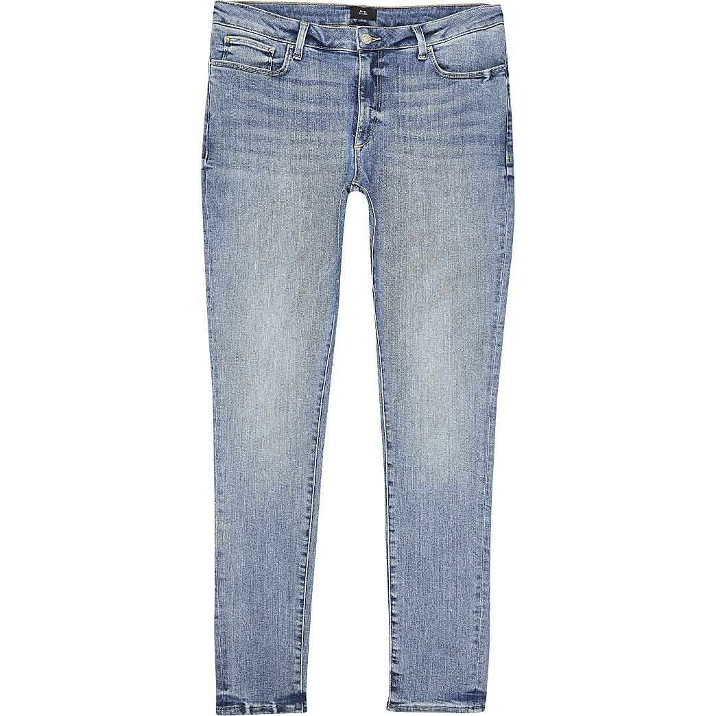 Big and Tall – Ollie – Jean ultra-skinny