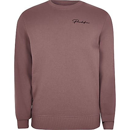 Big and Tall Prolific dark pink sweatshirt