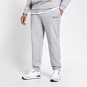 Big and Tall Prolific grey slim fit joggers