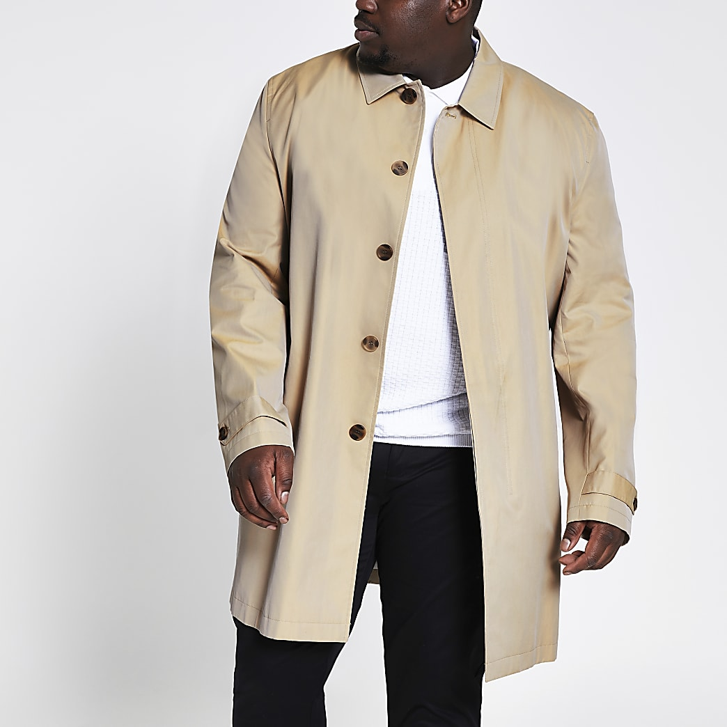 Big and Tall – Imperméable grège