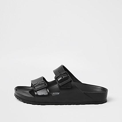 Birkenstock black Arizona EVA sandals