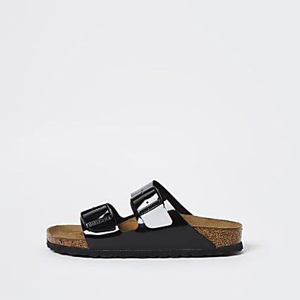 Birkenstock black double strap sandal