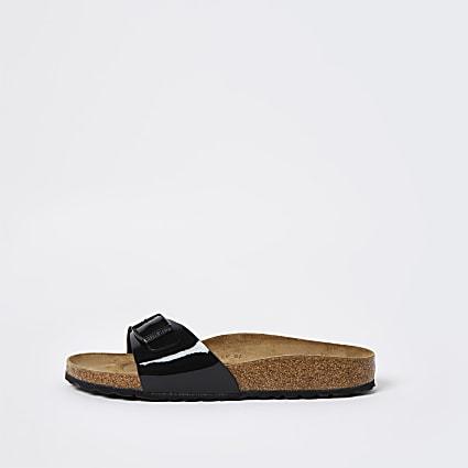 Birkenstock black one strap sandal