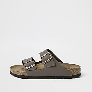 Birkenstock – Sandales Arizona marron