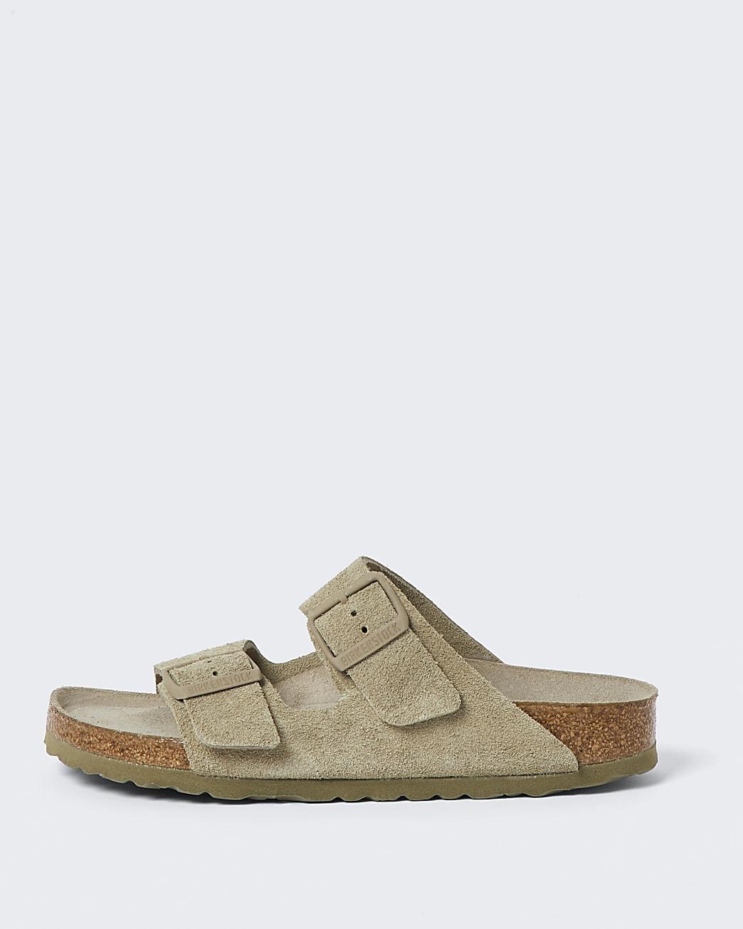 Birkenstock brown double strap sandal
