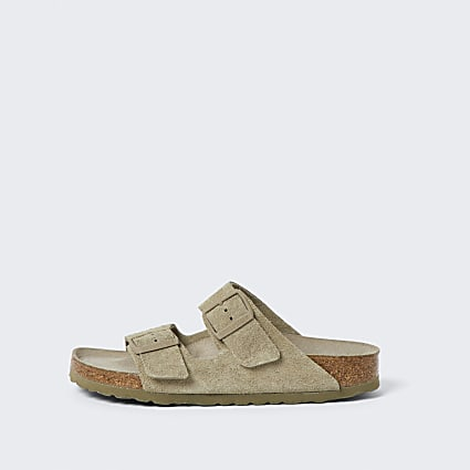Birkenstock brown double strap sandal