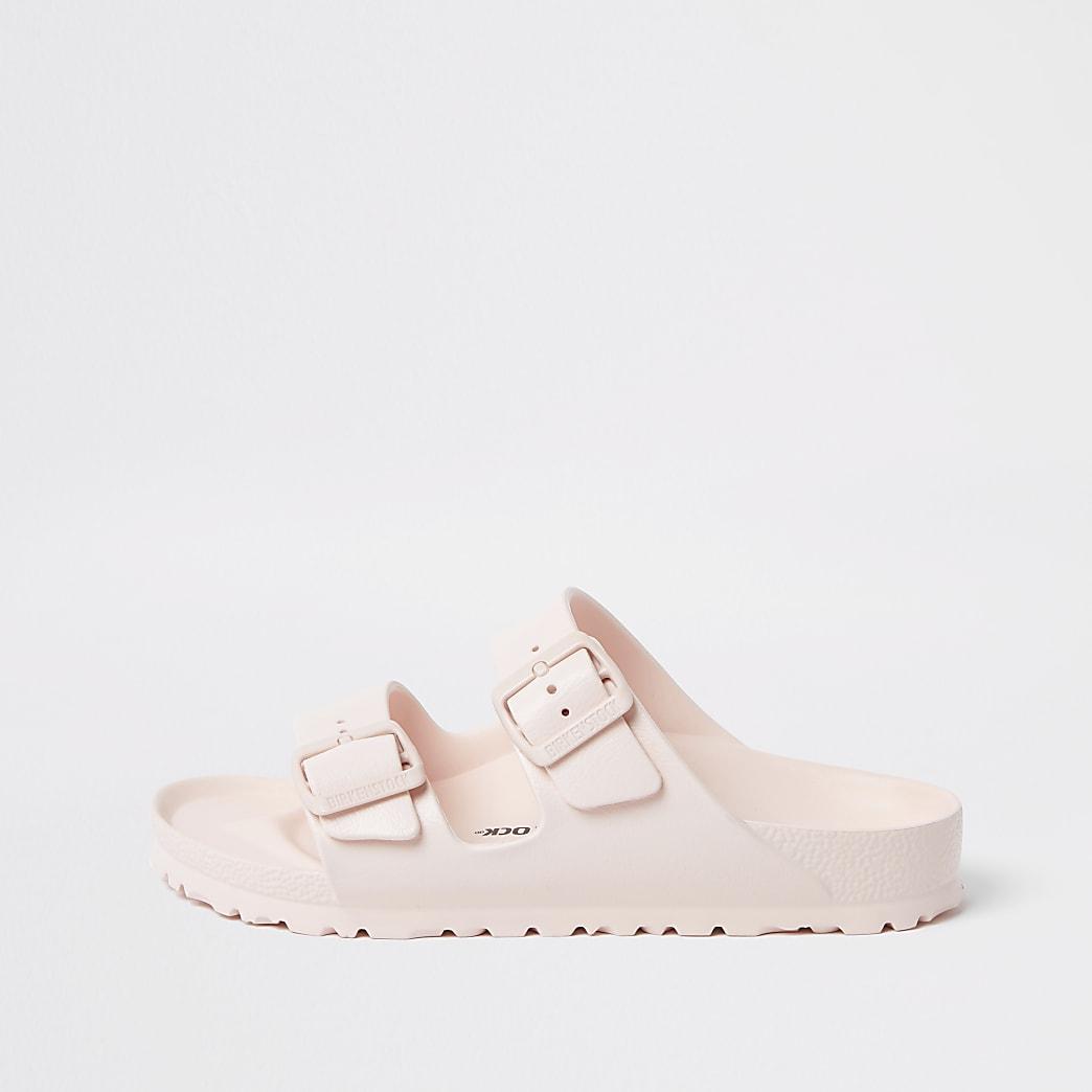 Birkenstock light pink Arizona EVA sandals
