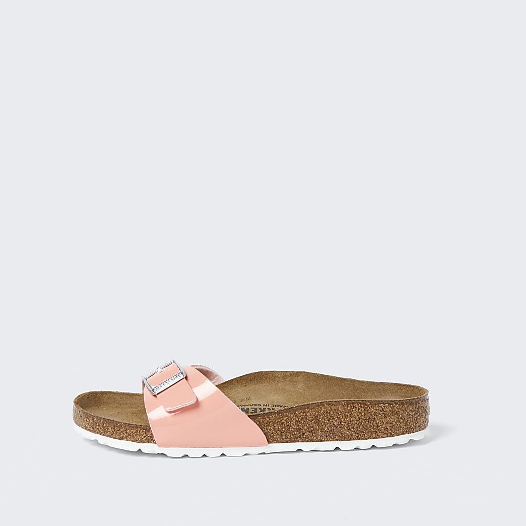 Birkenstock pink one strap sandal