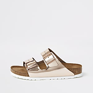 Birkenstock – Sandales Arizona or rose