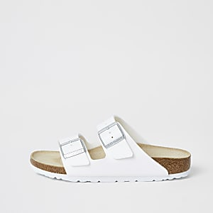 Birkenstock – Arizona – Weiße Sandalen
