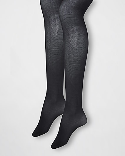 Black 20 denier tights multipack
