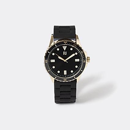 Black Black And Gold Plastic