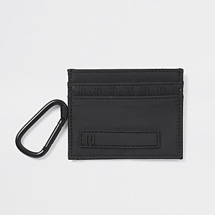 Black clip cardholder