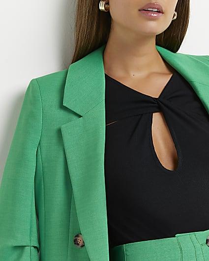 Black cut out bodysuit